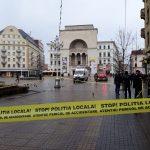 Foto. Pompierii, în alertă! Ce se întâmplă în Piața Victoriei