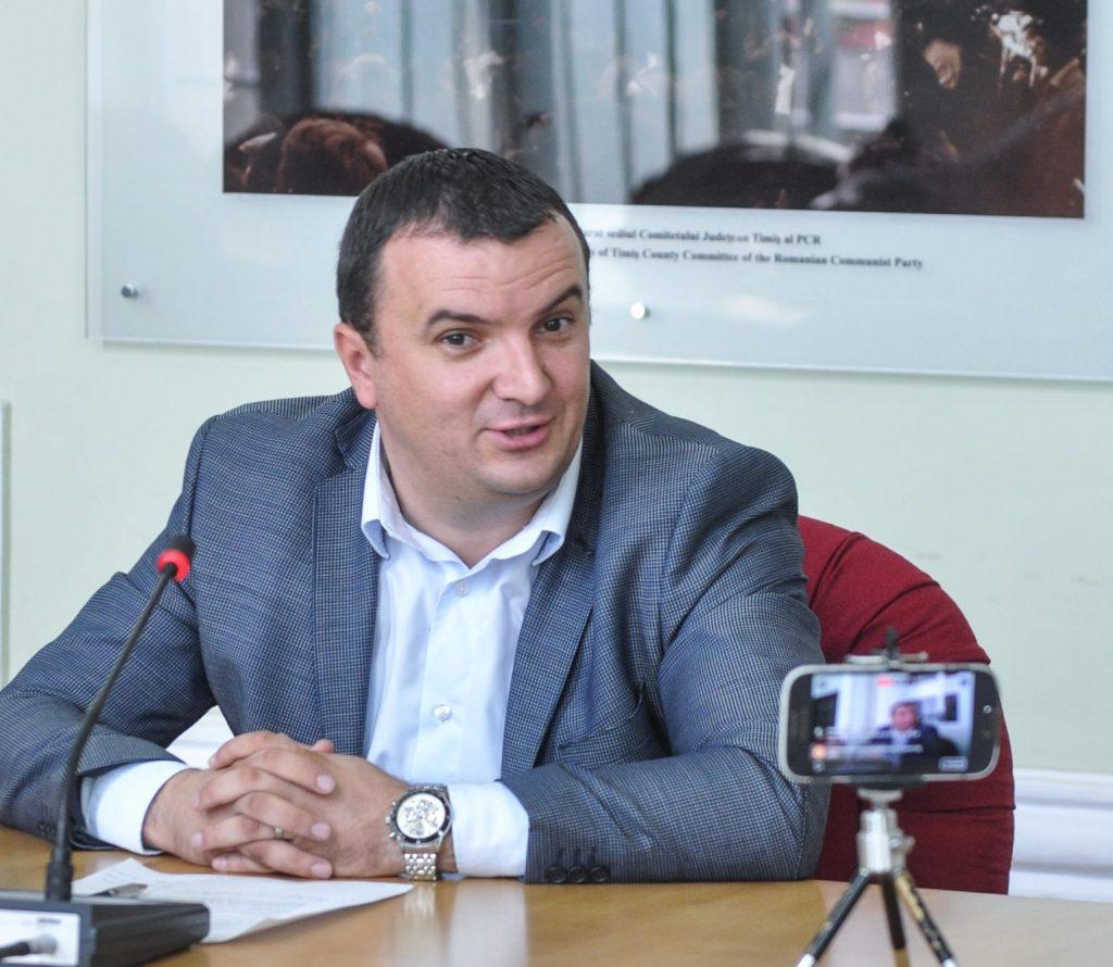 Călin Dobra este preşedinte interimar al PSD Timiş