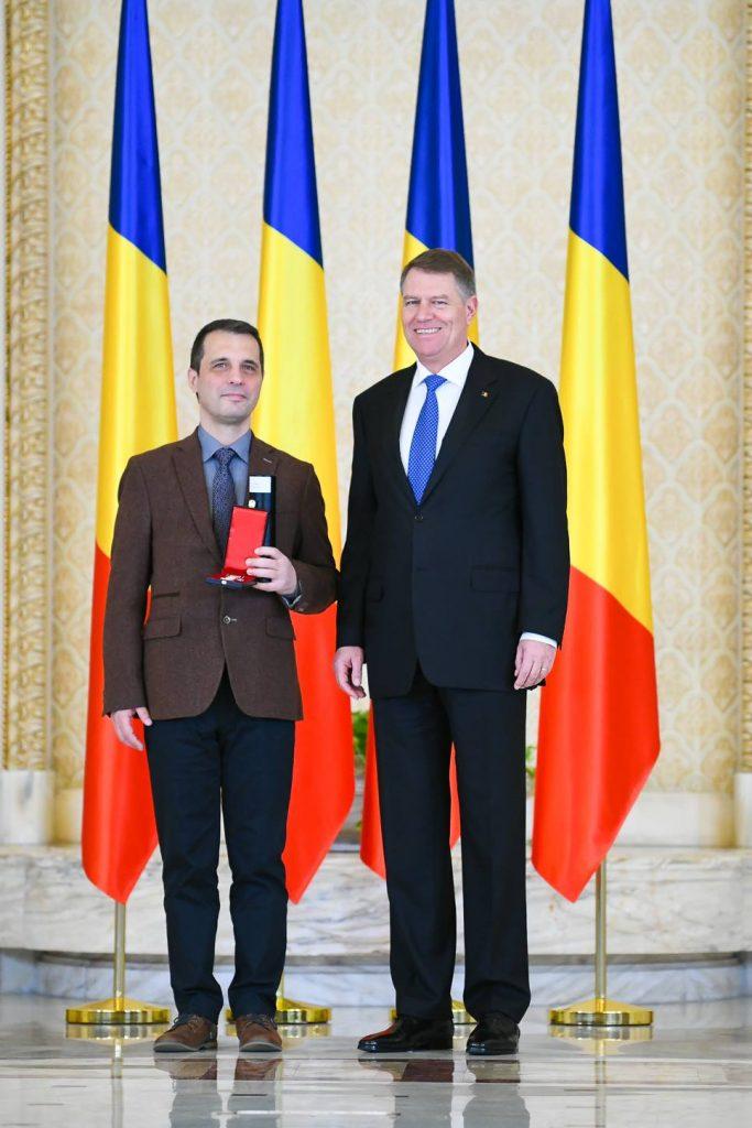 Profesor de la UVT, decorat de președintele României