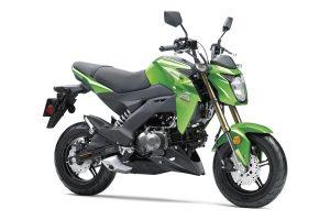 Motocicletele Kawasaki Z125 Pro, rechemate în fabrică