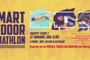 Primul triatlon indoor din România se desfășoară la Timișoara