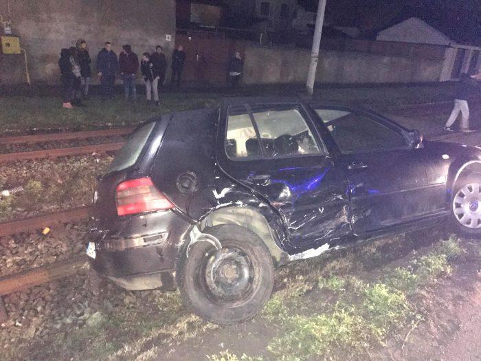 O femeie însărcinată a ajuns la spital în urma unui accident petrecut la Arad