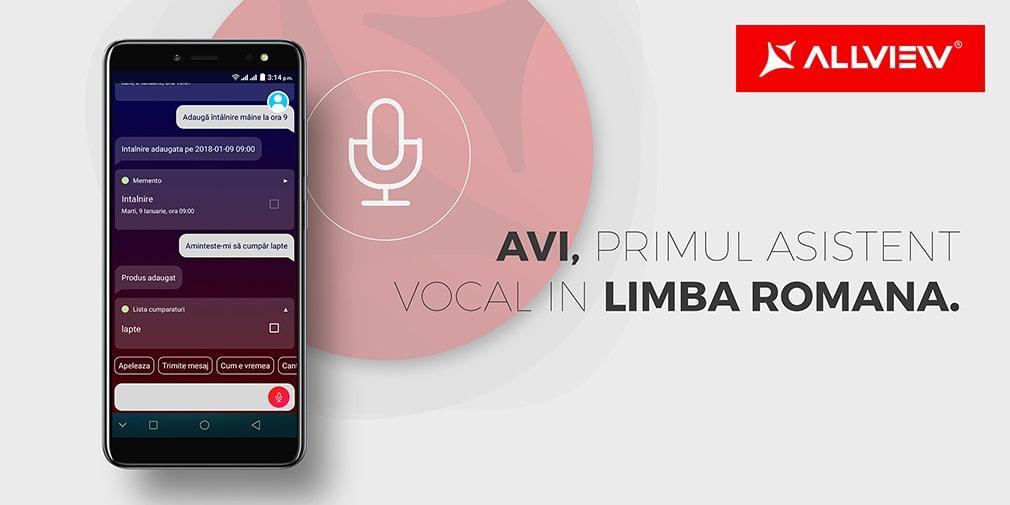 VIDEO Allview lansează a treia versiune a asistentului vocal AVI. Vezi cum te poate ajuta?