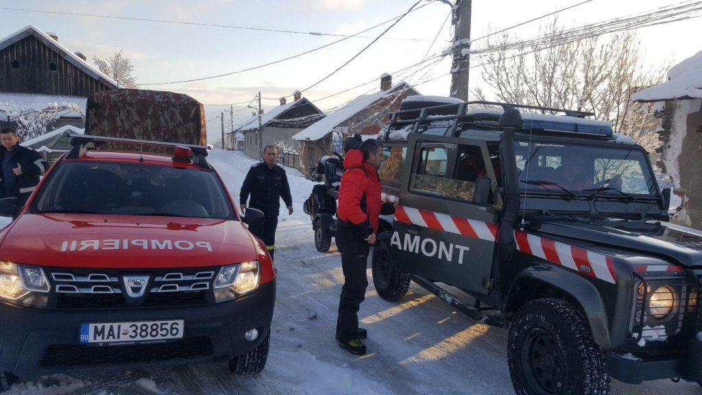 Peste 13 mii de angajați ai M.A.I. intervin în zonele afectate de condițiile meteo nefavorabile