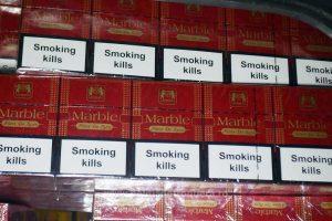 Aproape 800 de pachete de ţigări, confiscate la Porţile de Fier I