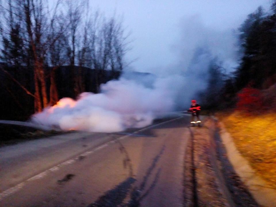 Cinci incendii în 24 de ore în Arad