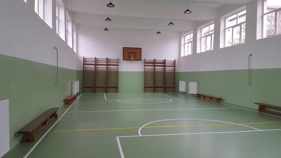 FOTO. Sală de sport modernă la Liceul Azur din Timișoara