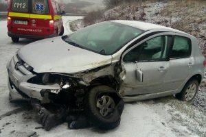 Accident între localitățile Sânandrei și Carani