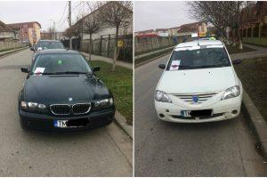 Șoferii care parcau cum îi taie capul, în zona Pieței Flavia, puși la plată. Zeci de amenzi aplicate în weekend