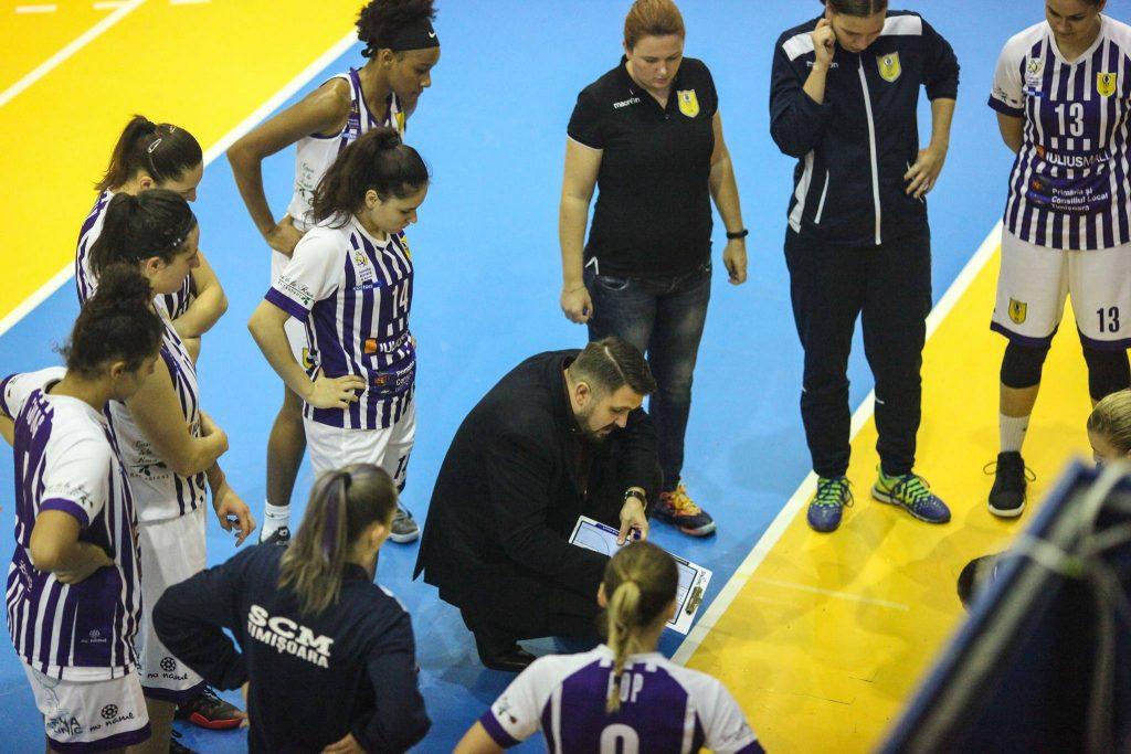 Turneul 6-9: trei meciuri, în trei zile pentru fetele de la SCM Timișoara