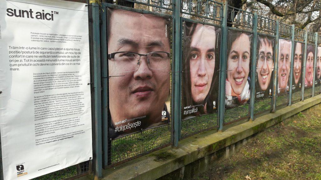 Expoziție foto de-a lungul Parcului Botanic. Timișorenii sunt invitați să se oprească o clipă și să se privească în ochi