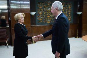Ridicarea vizelor, pe agenda discuțiilor dintre prim-ministrul României și ambasadorul SUA