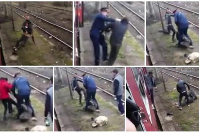 Cioban din Timiş, bătut în gară de controlor și doi călători