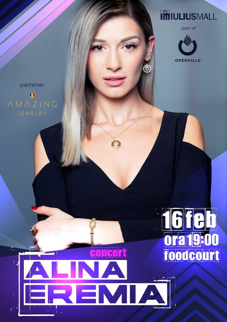 Concert cu Alina Eremia, târguri tematice și teatru de păpuși, în week-end la Iulius Mall