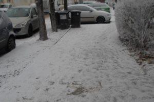 Sute de somații și numai 18 amenzi pentru timișorenii care nu și-au curățat gheața din fața casei