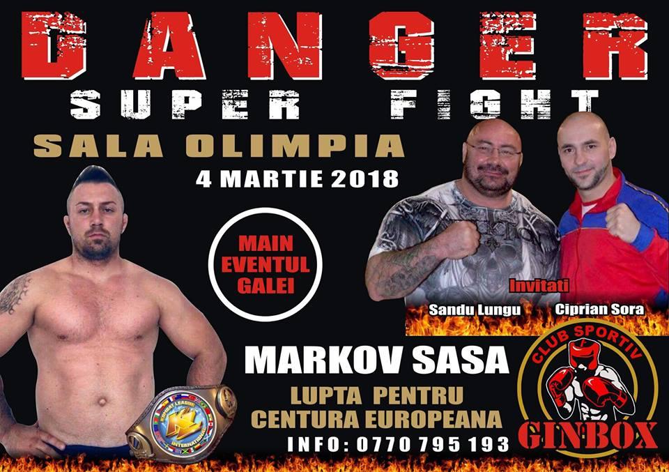 Gala Danger Superfight, la a treia ediţie. Timișorenii invadează ringul de lupte din Sala Constantin Jude