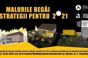 Expoziție de proiecte ale studenților: Malurile Begăi – strategii pentru 2021