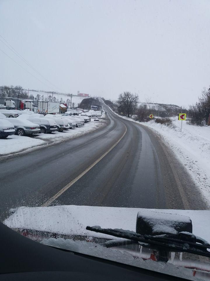 DRDP: echipaţi-vă maşinile pentru condiţii de iarnă
