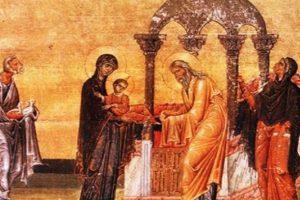 Sărbătoare mare azi: Întâmpinarea Domnului