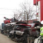 Firmele de dezmembrări auto, luate la bani mărunți, la Timișoara! Amenzi de peste 13.000 de lei