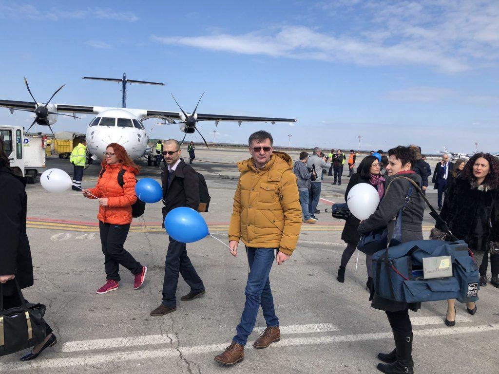 Tarom leagă Banatul de Moldova pe calea aerului