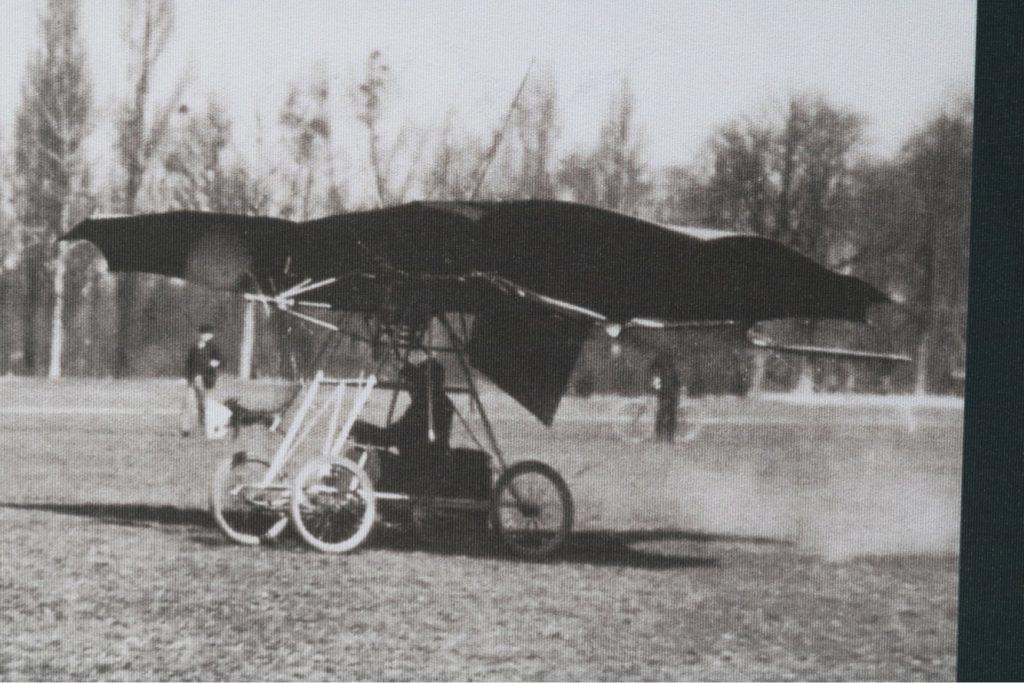 112 ani de la primul zbor al lui Traian Vuia