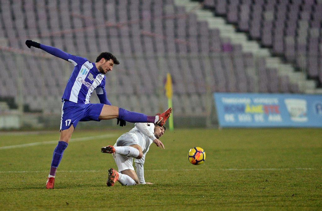 Un fotbalist de la Poli Timișoara, singurul integralist al sezonului regulat în Liga I