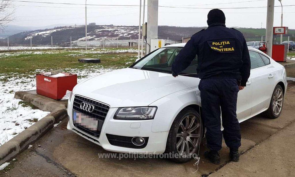 Autoturism căutat de autorităţile austriece, confiscat de poliţişti