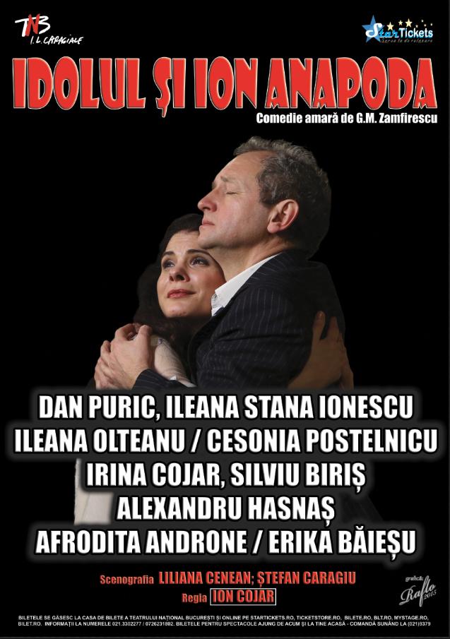 Idolul si Ion Anapoda: Dan Puric pe scena Operei timişorene