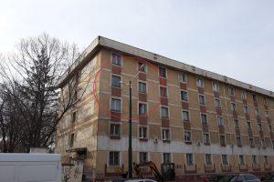 Foto: Prostie sau eroare de proiect? Iluminat public pentru interiorul locuințelor de pe strada Popa Șapcă