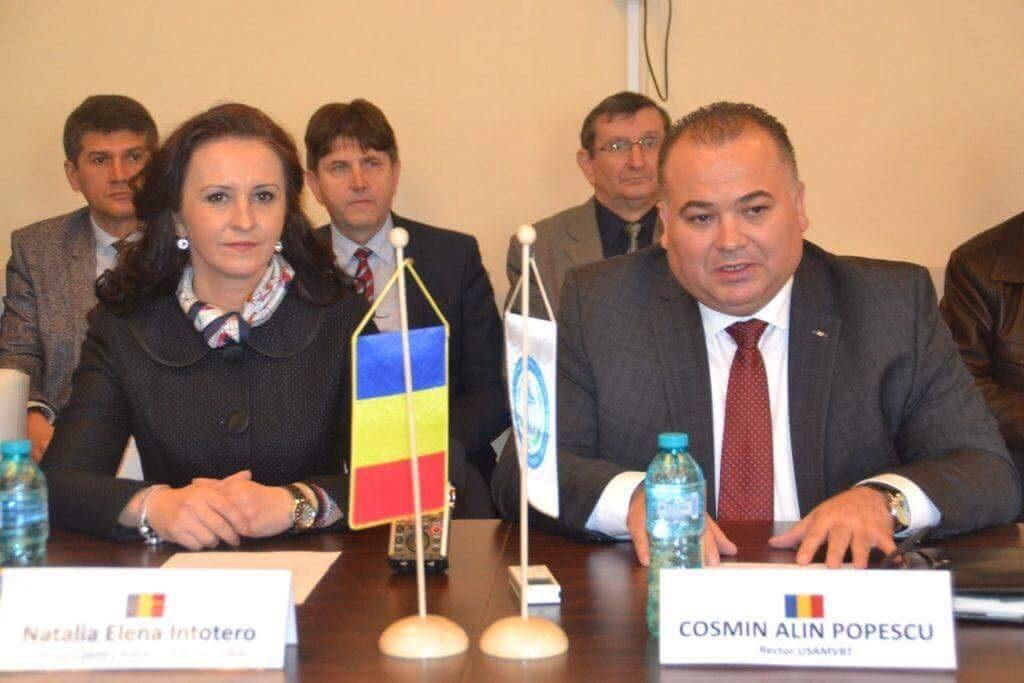 Ministrul pentru Românii de Pretutindeni, întâlnire cu studenții de la USAMVB