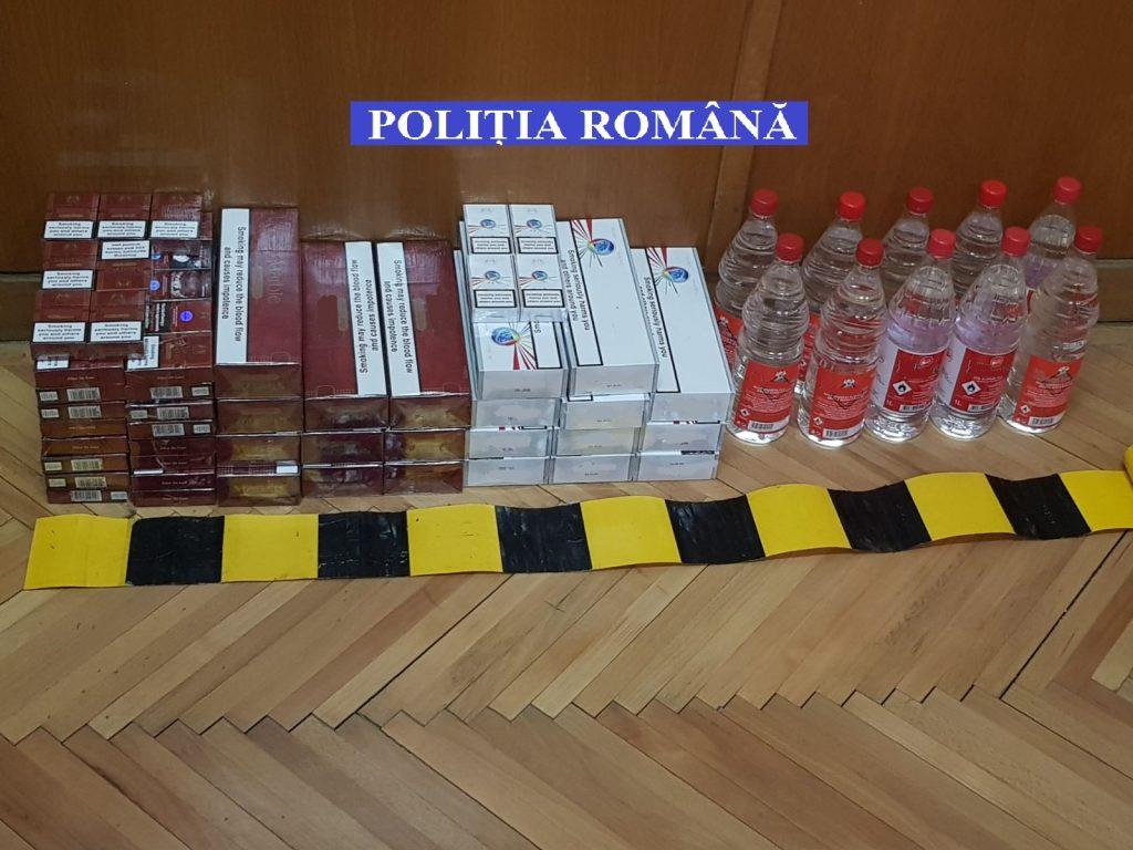Descinderi la contrabandiștii de țigări și alcool