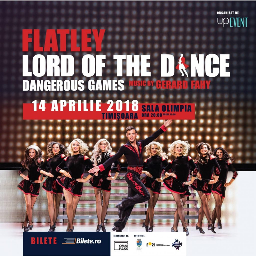 Coregrafie inovatoare în spectacolul Lord of the Dance – Dangerous Games