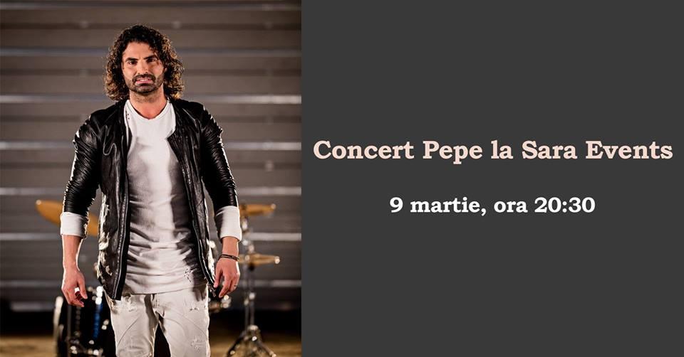 Pepe vine la Timișoara pentru un concert extraordinar