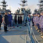 Zeci de marinari români se instruiesc în Marea Mediterană