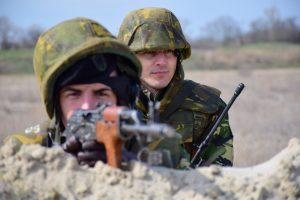 Asalt militar pe plaja Mării Negre, în cadrul exercițiului Spring Storm 18