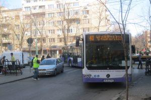 Traseele a 4 mijloace de transport în comun, modificate