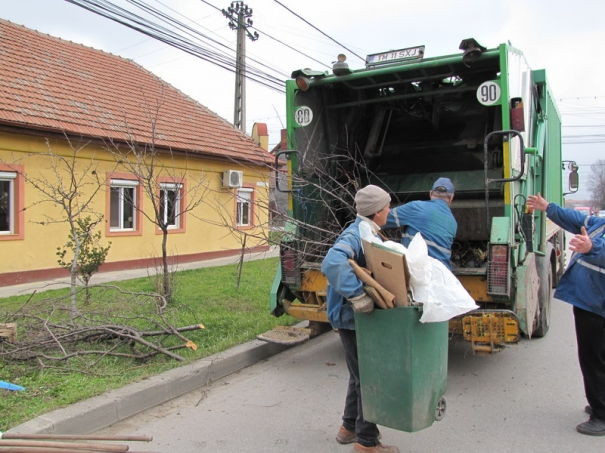 Curățenie de toamnă pe raza comunei Giroc