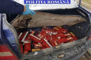 Țigări de contrabandă, confiscate de polițiștii timişeni