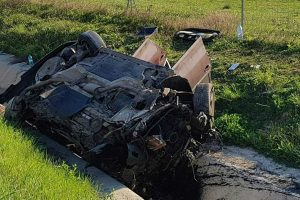 Grav accident pe autostrada A1, în apropiere de Orţişoara