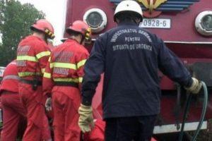 Un sofer a scapat ca prin minune in urma unui accident feroviar