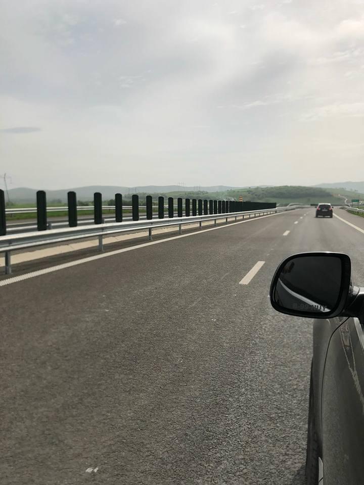 Record de viteză pe autostrada Deva – Nădlac. Şoferul e din Dumbrăviţa