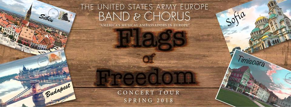 Orchestra și Corul Forțelor Terestre Americane Staționate în Europa, în concert la Timișoara