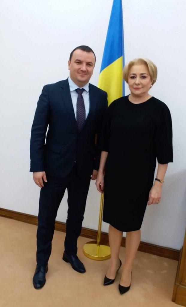 Liderul CJT s-a întâlnit cu premierul Viorica Dăncilă