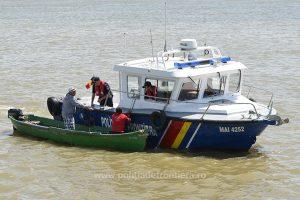 Prohibiţie pentru pescuitul în apele care constituie frontieră de stat