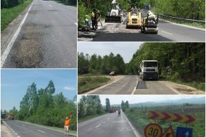 Drumul pe care şoferii din vest trebuie să circule cu atenţie