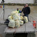 Lunca Timişului, curăţată de voluntari şi autorităţi pentru a promova turismul eco