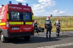 Accident grav în Baia Mare. Două persoane au murit, iar alte nouă au fost rănite