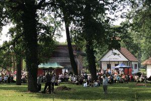Timişorenii au încins grătarele la Pădurea Verde