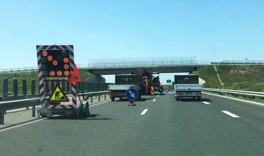 Trafic restricţionat pe A1, pe sensul de mers Traian Vuia- Remetea Mare